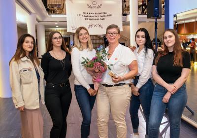 Studerande och lärare från Ålands Hotell och restaurangskola