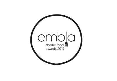 Logo med text: Embla Nordic Food Awards 2019