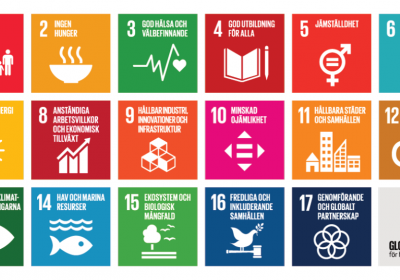 Karta FN:s 17 globala mål