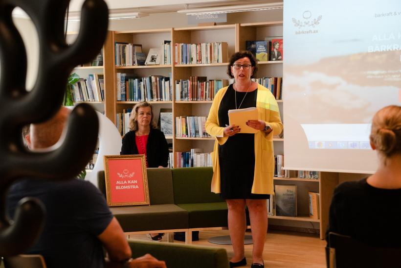 Utvecklings- och hållbarhetsrådets ordförande Veronica Thörnroos