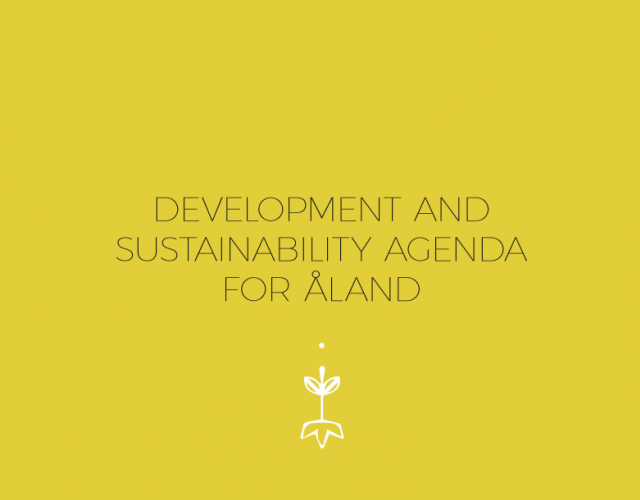 Development and sustainability agenda for Åland