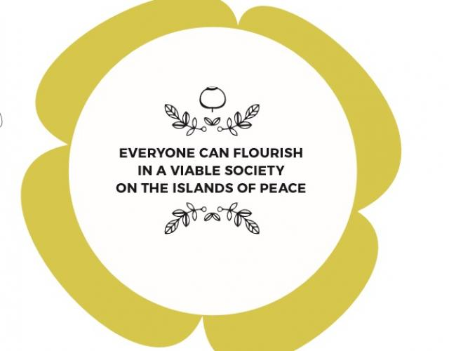 Everyone can flourish in a viable society on the islands of peace