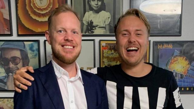 Fredrik Rosenqvist och André Karring