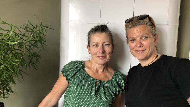 Anki Aaltonen och Ia Colérus